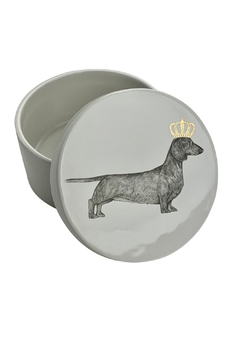 GHome2 Dachshund Lidded Jar - Alternate List Image