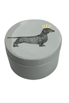 GHome2 Dachshund Lidded Jar - Product List Image