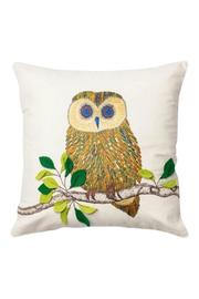 GHome2 Embroidered Owl Pillow - Front cropped