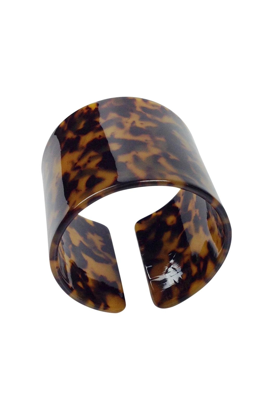 GHome2 Faux Tortoise Cuff - Front Full Image