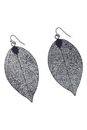 GHome2 Filigree Leaf Earrings - Product Mini Image