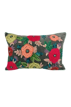 GHome2 Floral Embroidered Pillow - Product List Image