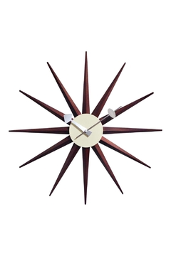 GHome2 George/nelson Sunburst Clock - Product List Image