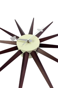 GHome2 George/nelson Sunburst Clock - Alternate List Image