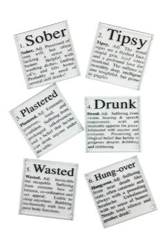 GHome2 Glass Cocktail Coasters - Product List Image