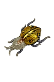 GHome2 Gold Beetle Ornament - Front full body