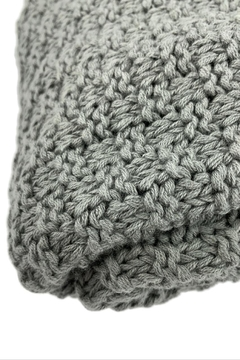 GHome2 Gray All Cotton Throw - Alternate List Image