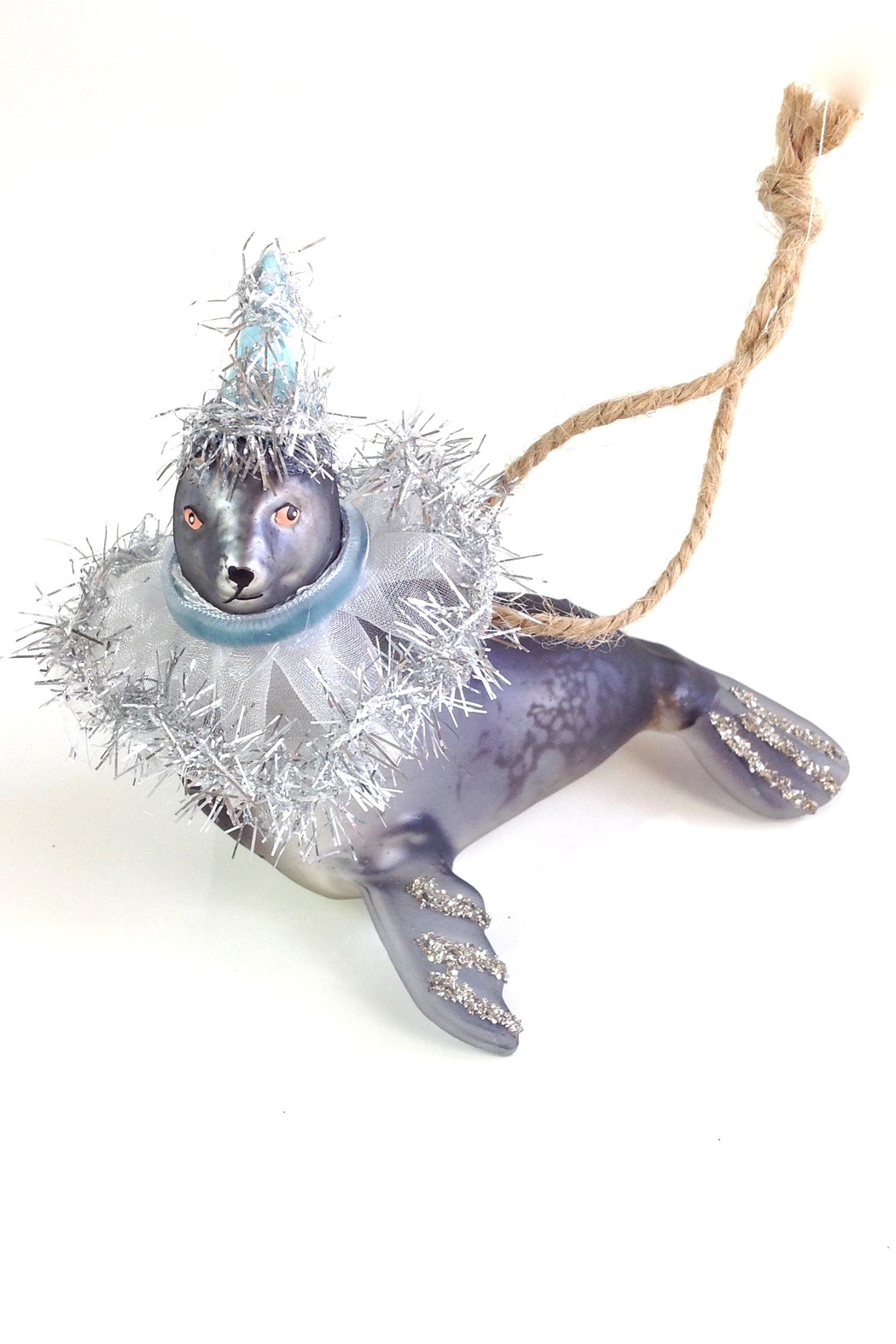 GHome2 Gray Seal Ornament - Side Cropped Image