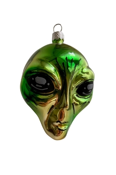 GHome2 Green Alien Ornament - Product List Image
