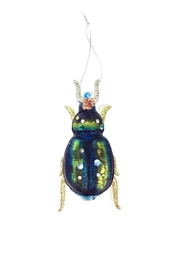 GHome2 Green Beetle Ornament - Other