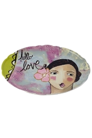 GHome2 Hello Love Platter - Front cropped