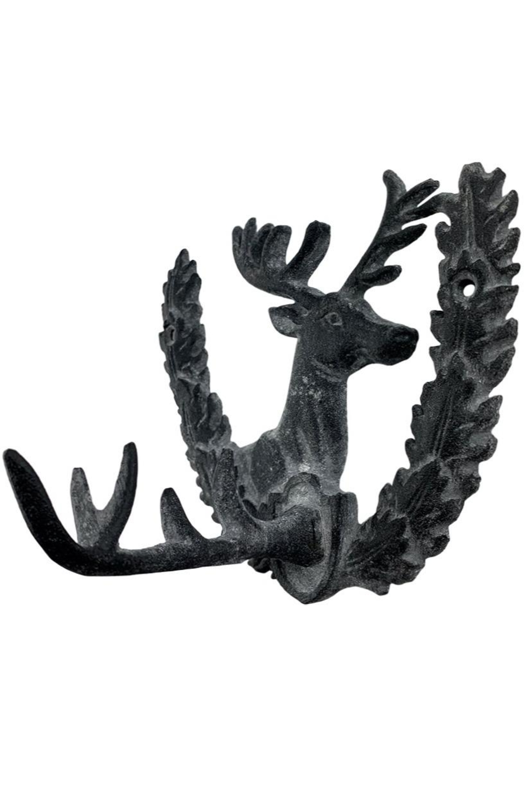 GHome2 Iron Deer Wall Hook - Front Cropped Image