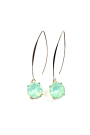 GHome2 Jade Swarovski Earrings - Product Mini Image