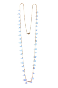 GHome2 Long Necklace W/blue-Crystals - Product List Image