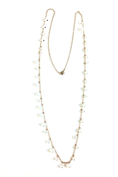 GHome2 Long Opal-Crystal Necklace - Product List Image