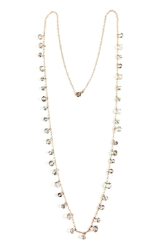 GHome2 Long Smokey-Crystal Necklace - Product List Image