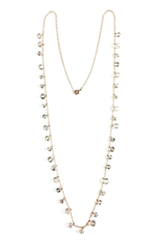 GHome2 Long Smokey-Crystal Necklace - Product Mini Image