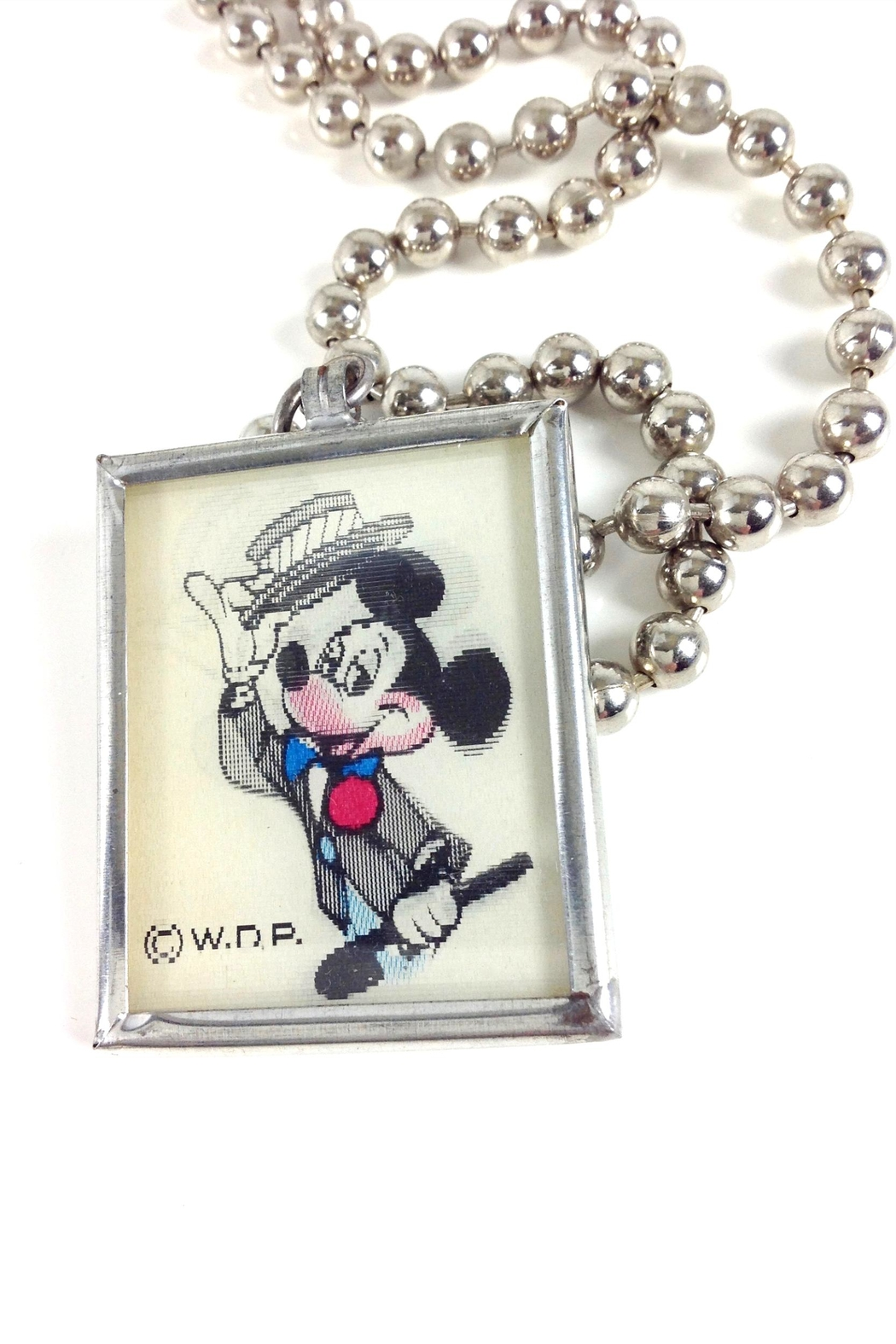 GHome2 Mickey Mouse Necklace - Back Cropped Image