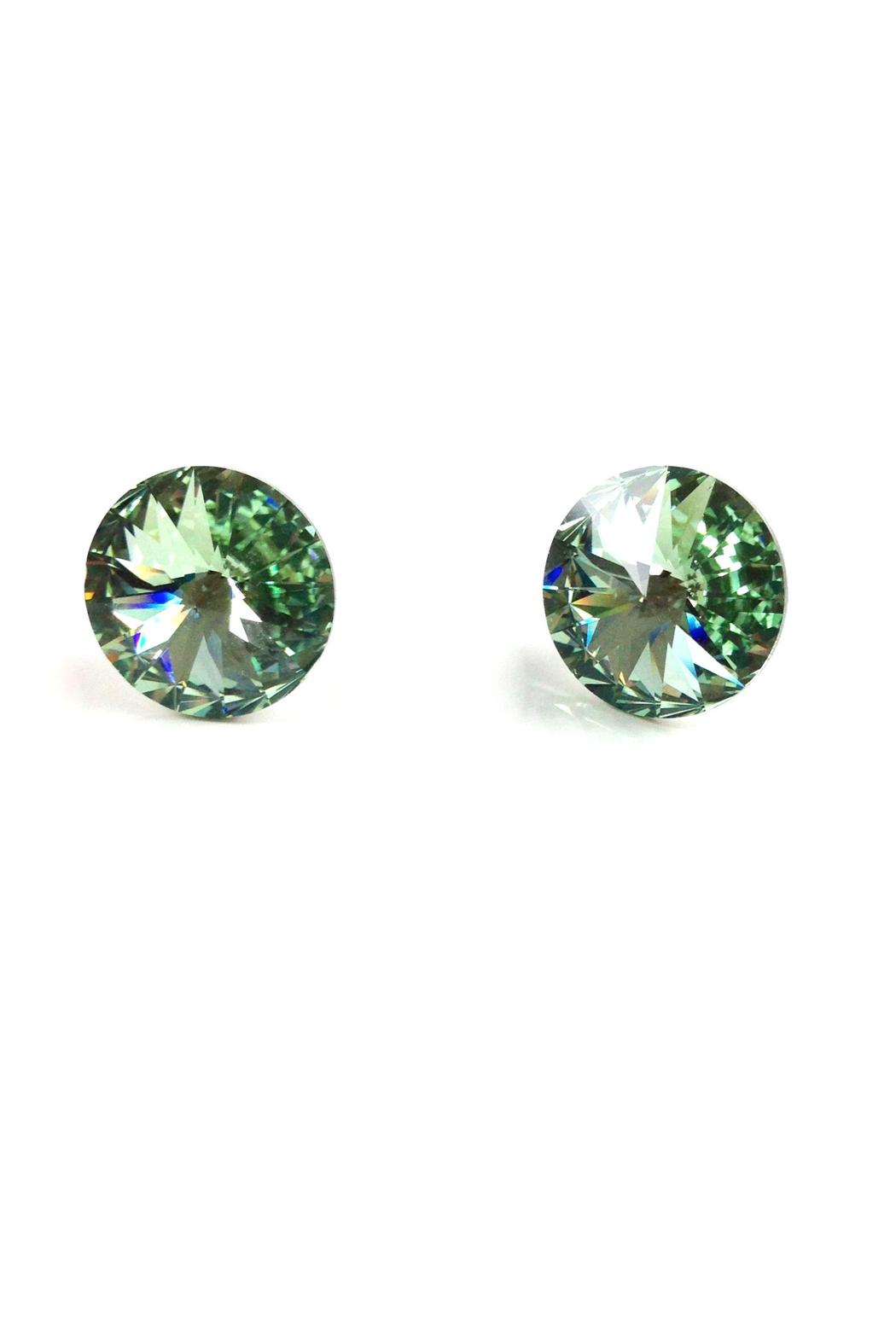 GHome2 Mint Green Swarovski Earrings - Main Image