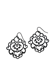 GHome2 Moroccan Filigree Earrings - Front full body