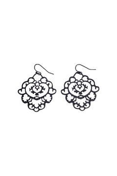 GHome2 Moroccan Filigree Earrings - Alternate List Image