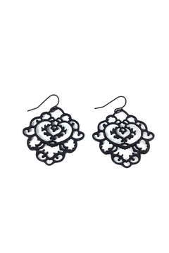 Shoptiques Product: Moroccan Filigree Earrings
