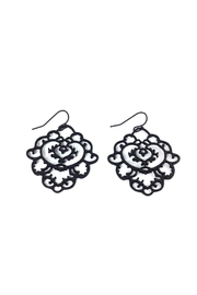 GHome2 Moroccan Filigree Earrings - Product Mini Image