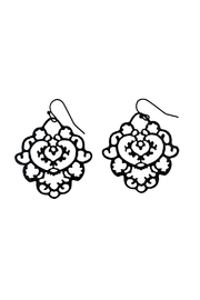 GHome2 Moroccan Filigree Earrings - Front cropped
