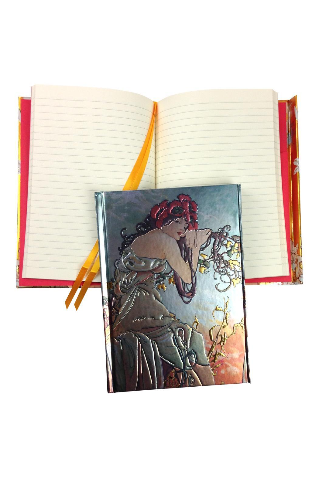 GHome2 Mucha Foil Journal - Front Full Image
