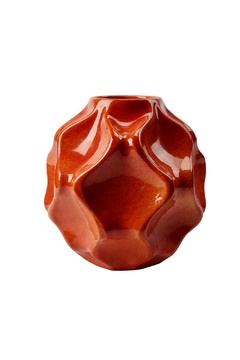 GHome2 Orange Mid Century Vase - Product List Image