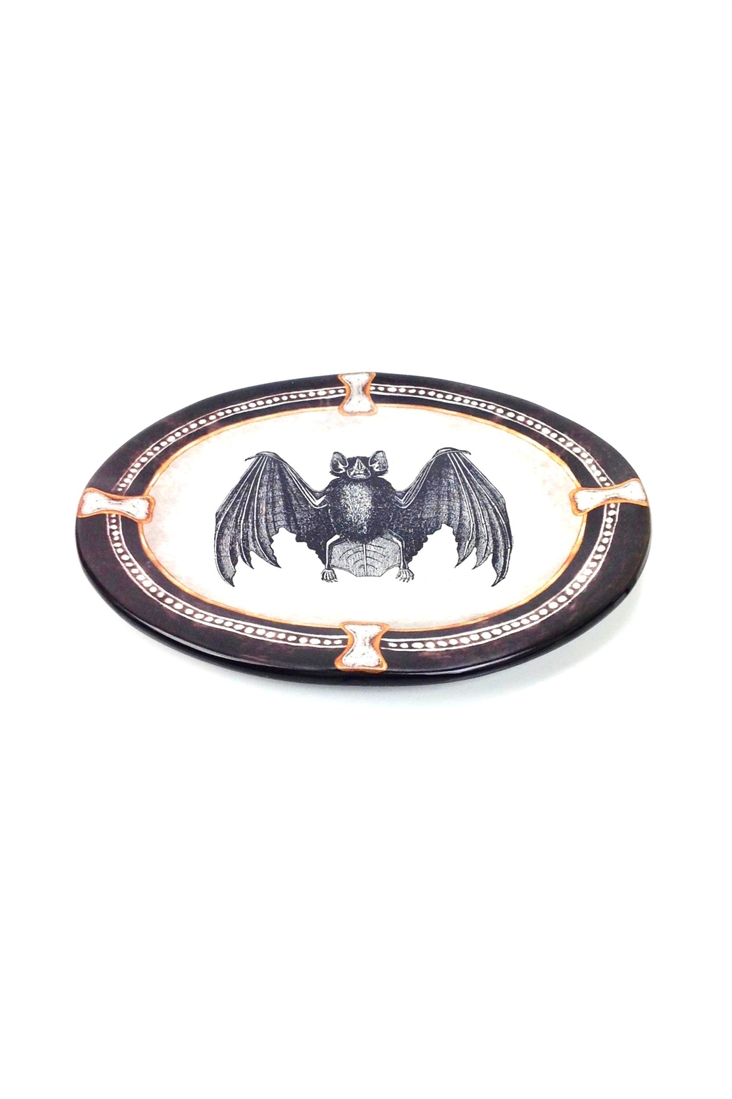 GHome2 Oval Bat Plate - Front Full Image