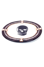 GHome2 Oval Skull Plate - Front full body