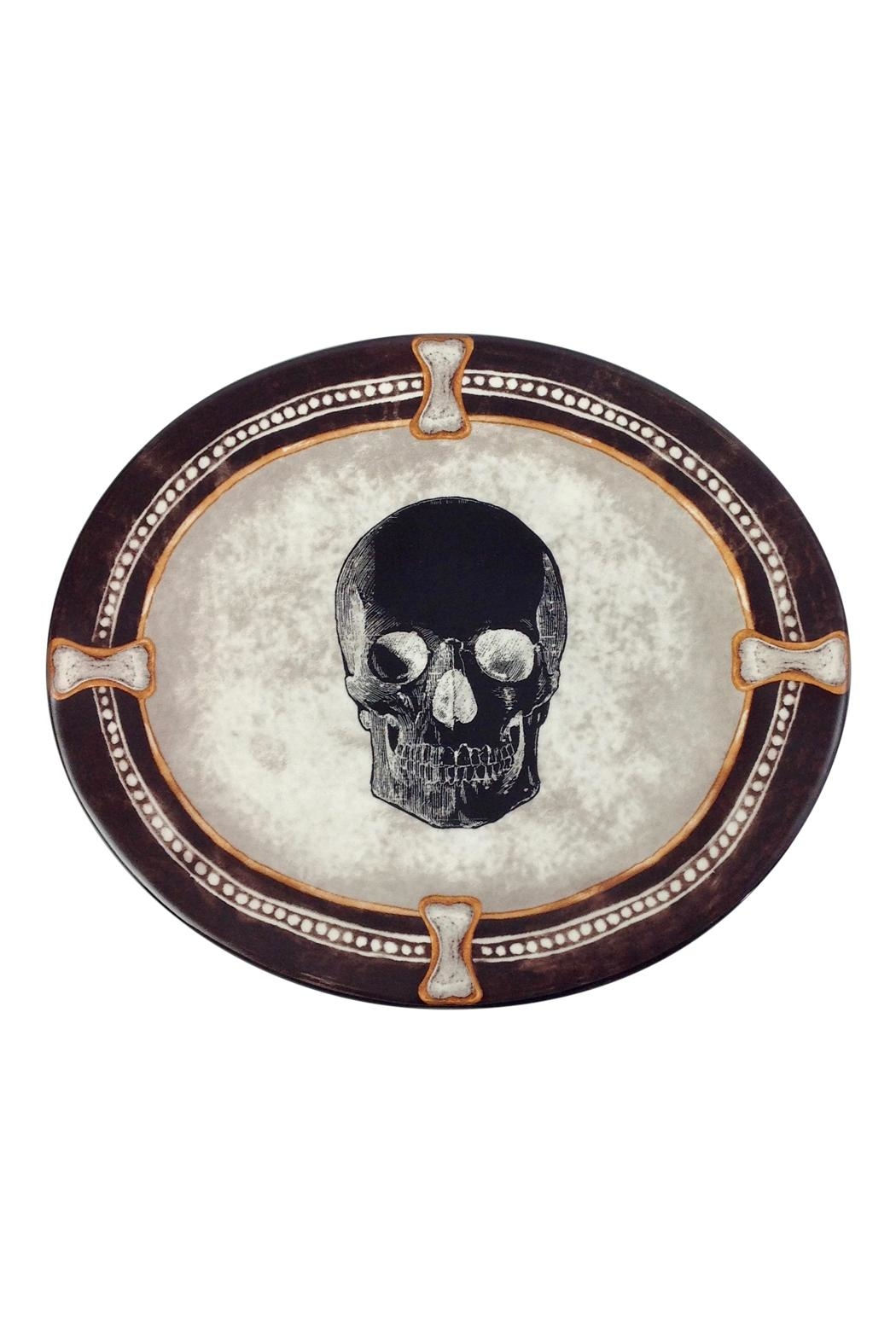GHome2 Oval Skull Plate - Main Image