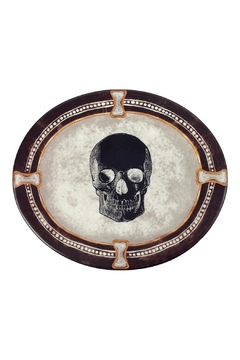 Shoptiques Product: Oval Skull Plate