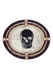 GHome2 Oval Skull Plate - Front cropped