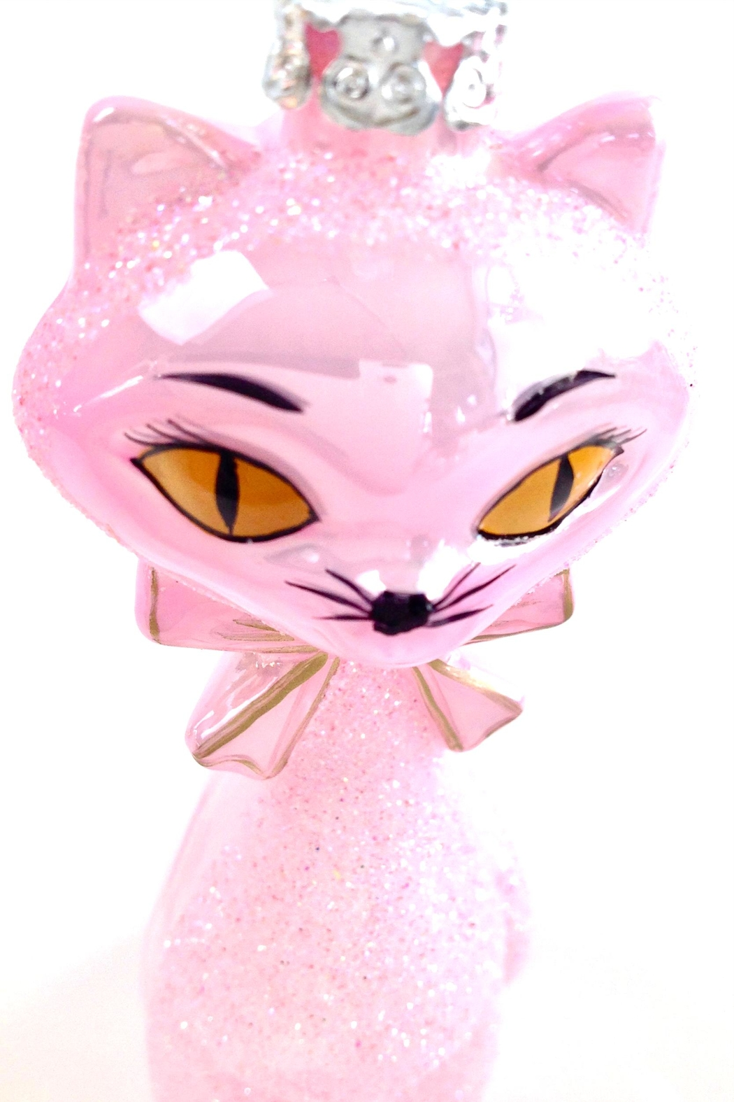 GHome2 Pink Kitten Ornament - Back Cropped Image