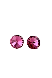 GHome2 Pink Swarovski Earrings - Product Mini Image