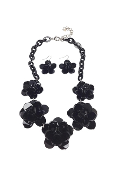 Shoptiques Product: Plastic Flower Necklace