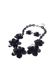 GHome2 Plastic Flower Necklace - Front full body