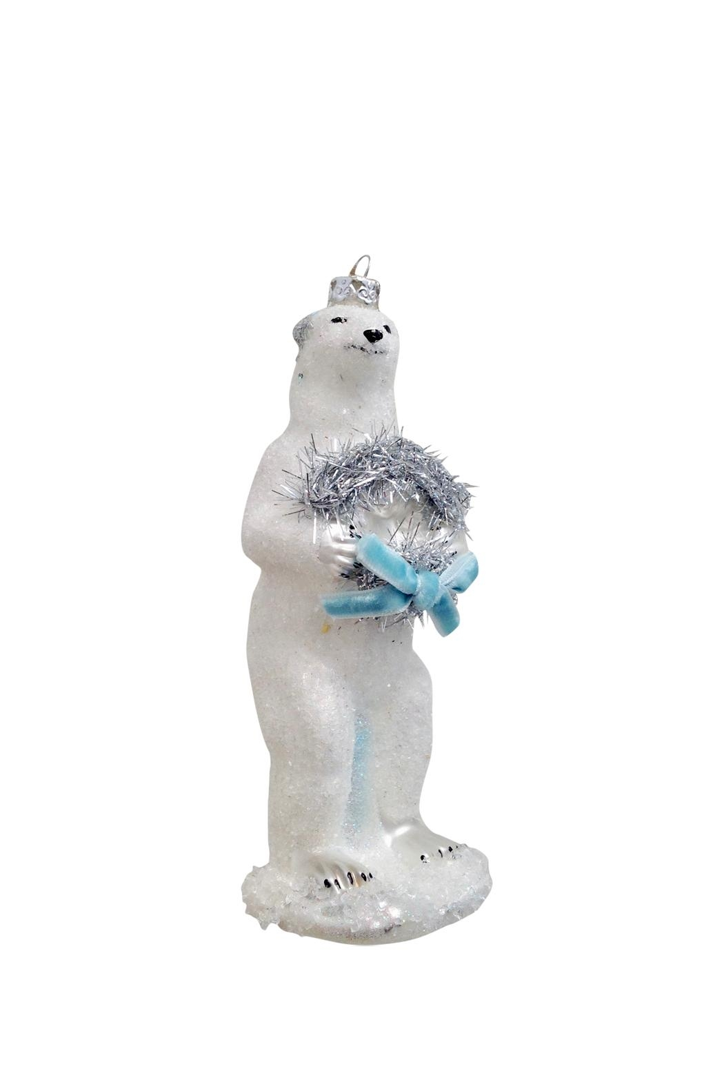 GHome2 Polar Bear Ornament - Front Cropped Image