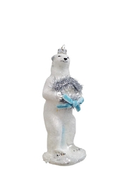 GHome2 Polar Bear Ornament - Front cropped