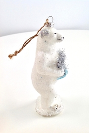 GHome2 Polar Bear Ornament - Back cropped
