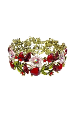 GHome2 Red Crystal Cuff - Alternate List Image