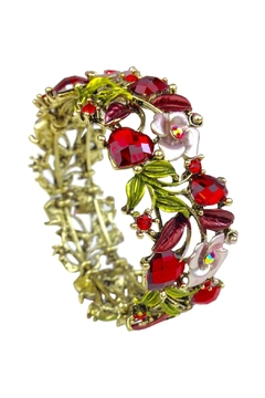 GHome2 Red Crystal Cuff - Product List Image