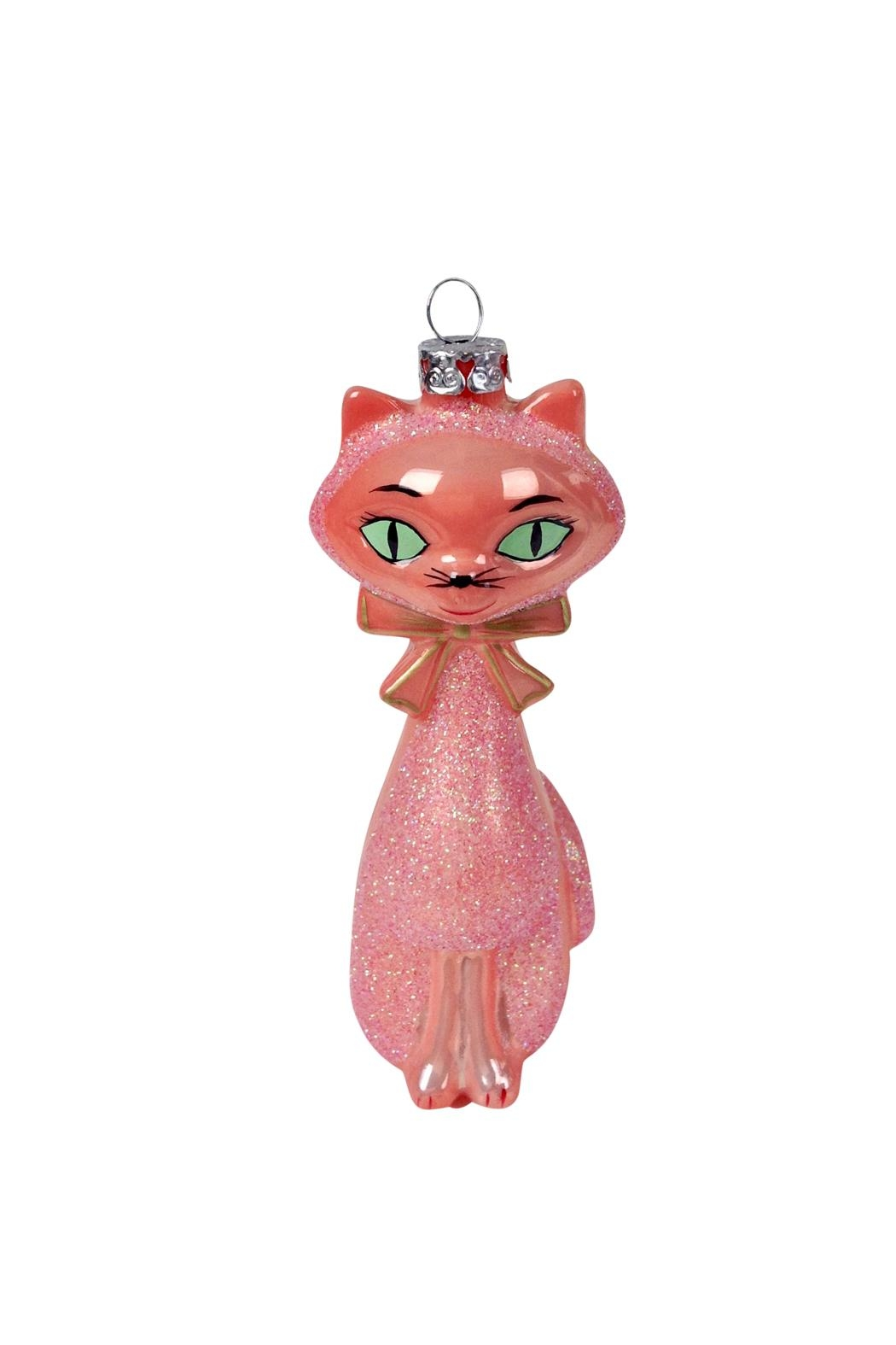 GHome2 Salmon Kitten Ornament - Front Cropped Image