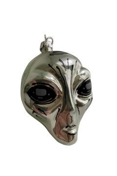 GHome2 Silver Alien Ornament - Product List Image