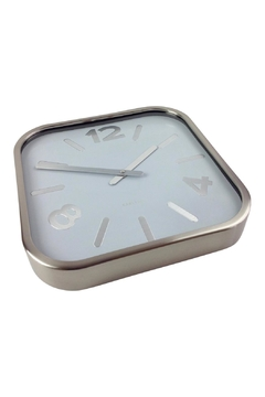 GHome2 Silver Square Clock - Alternate List Image