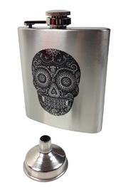 GHome2 Skully Stainless Flask - Product Mini Image