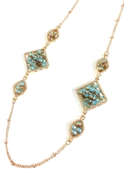 GHome2 Smokin-Jade Crystal Necklace - Front full body