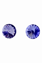 GHome2 Tanzanite Swarovski Earrings - Product Mini Image